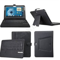 [globalbuy] Leather 3.0 Removable 3.0 Bluetooth Keyboard Case Cover For Samsung Galaxy Not/3204035