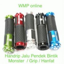 Handrip Jalu Pendek Bintik Monster / Grip / Hanfat