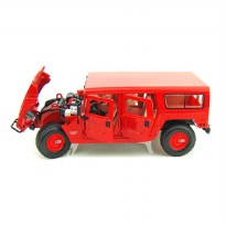 Maisto Premiere Hummer 4 Wagon, Color Red - Skala 1:18