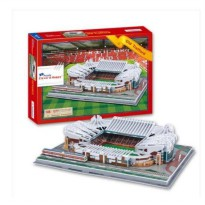 3D Puzzle Miniatur Stadion Old Trafford (Manchester United)