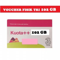 [Gold Product] Voucher Kuota Isi Ulang Tri 102 GB Reguler 24Jam - Tri 102GB 4G LTE