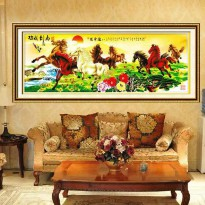 DIY Diamond Painting 5D kuda 180X63CM D242
