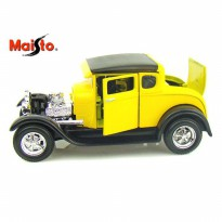 Maisto Special Ford Model A 1929, Color Yellow - Scale 1:24