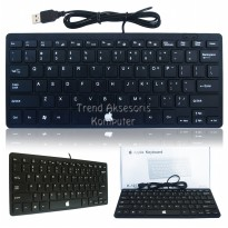 Universal K-1000 Apple Multimedia Keyboard Mini USB - Hitam