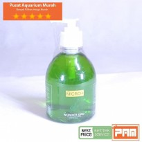 PUPUK CAIR WONDER GROW MICRO  FERTILIZER 300 ml BOTOL HIJAU TERMURAH