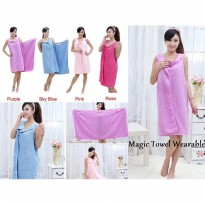 Handuk Baju Multifungsi Dewasa / Wearable Towel