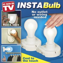 Instabulb as seen on tv ( lampu baterai )