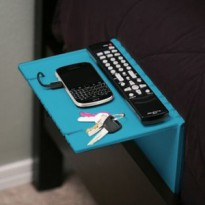 Urban Shelf ( Black Blue) Folding bedside shelf for you ( meja lipat )