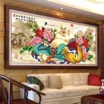 DIY Diamond Painting Full Mi Lek Fo Buddha Ketawa 165×75 CM D309B