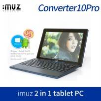 [iMUZ] 4in1 pc hybrid tablet Converter10 Pro / dual os android windows10 / x5-z8300 quad core 10.1