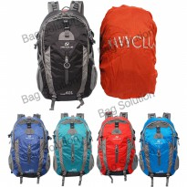 Navy Club Mountain Backpack 3550 40 L [Gratis Bag Cover]