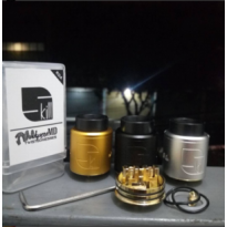 Skill RDA By Twisted Messes & VapersMD 24mm High Quality Style Vape