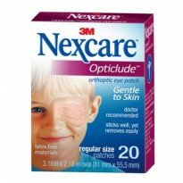 3M Nexcare Opticlude Orthoptic Eye Patch Regular