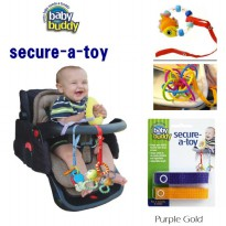 Baby Buddy Secure-A-Toy - Purple Gold