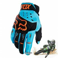 FOX AIRLINE16 ( Blue ) Sarung Tangan Sepeda Motor Import Original
