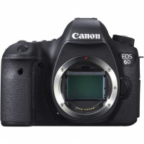 CANON EOS 6D BODY BUILT-IN WIFI AND GPS - KAMERA SLR CANON 6D BODI