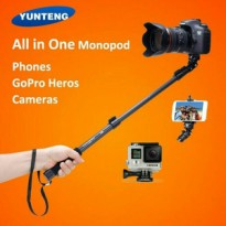 Tongsis Selfie Yunteng YT 188 + Holder U / Camera DSLR Action Cam