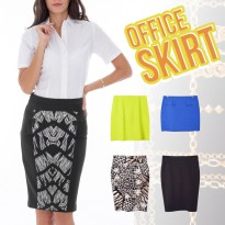 New Collection Branded Women Office Skirt / Office Look / Women Skirt / Rok Wanita / Rok Kerja / Good Quality