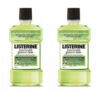 Listerine Natur Green Tea 250 mL - 2 Botol