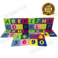 Ocean Toy Evamats Abjad Mini ABC/123 15X15CM 40pcs EVAZMJ