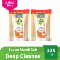 [GET 2] Dettol Deep Cleanse 225ml Pouch