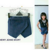 Jeans skort (NO TOP) For KIDS Original Import