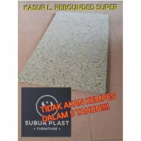 Kasur Lipat/Kasur Busa Lipat/Busa Super Uk.X-TRA Single 180x100x5