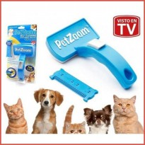 #EH110 - Pet Zoom Self Cleansing - Sisir Kucing Anjing - sisir groomin