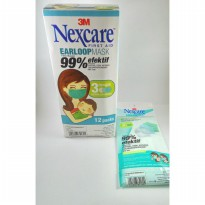 3M Nexcare Earloop Mask - Masker Earloop - 1 Kotak isi