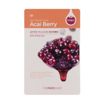 The Face Shop Real Nature Mask Sheet Acaiberry