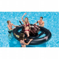 Intex 56280 Inflatabull / inflatable ride-on floatie / pelampung air