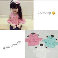 ZARA TOP FOR KIDS ORIGINAL IMPORT