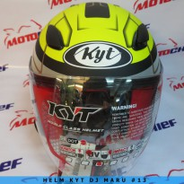 Helm Kyt Dj Maru Sticker #13