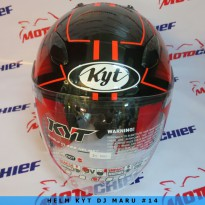 Helm Kyt Dj Maru Sticker #14