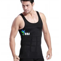 Slim N Lift Body Shaping For Men - Hitam - Size L