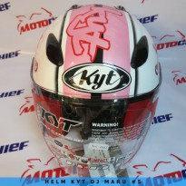 Helm Kyt Dj Maru Sticker #5