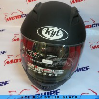 Helm Kyt Rc 7 Solid Black Doff