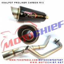 Knalpot Proliner R25 Carbon Short