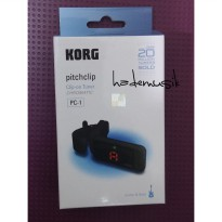 Clip On Tuner KORG Pitchclip PC-1 (BLACK)