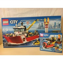 [macyskorea] LEGO CITY Fire Boat & LEGO CITY Fire Starter Set/14095712