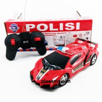 Mobil Remote Control Polisi - Mainan Mobil rC  - Ages 3+
