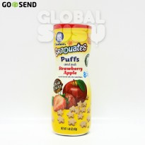 GERBER PUFF STRAWBERRY APPLE