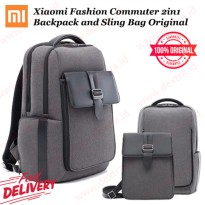 Xiaomi Fashion Commuter 2in1 Backpack and Sling Bag Original