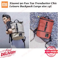 Xiaomi 90Fun Tas Trendsetter Chic Leisure Backpack Large Size 14L