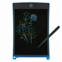 LCD Drawing Writing Papan Tulis Gambar Anak Warna RAINBOW 8.5 Inch Tablet