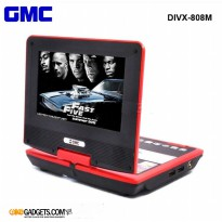 GMC DVD VIDEO PLAYER Portable ALL IN ONE TV - DVD - PLAY GAMES 7