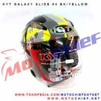 Helm KYT Galaxy Slide #4 Yellow