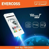 EVERCOSS R40A RAM 2GB. ROM 16GB. QUADCORE