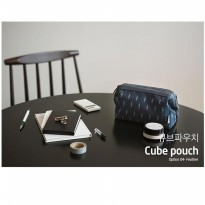 Cosmetic Pouch Travel Organizer- Tas Dompet Make Up Kosmetik CP05 CUBE