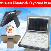 [globalbuy] Local Language Layout Wireless Bluetooth Keyboard Case Cover For Samsung Galax/3454805